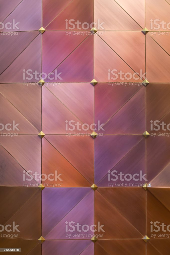 Colored metal wall background stock photo