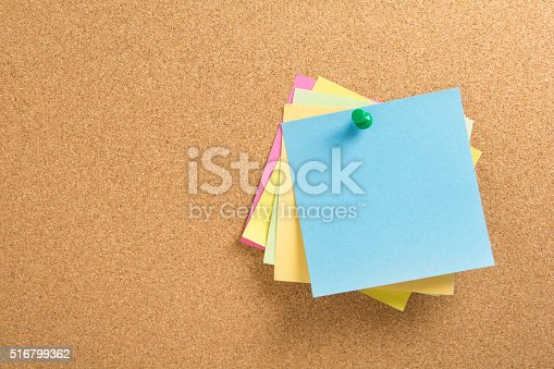 istock colored notepapers 516799362