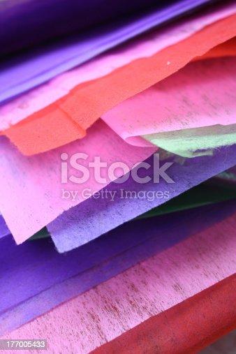 483533237 istock photo Colored paper 177005433