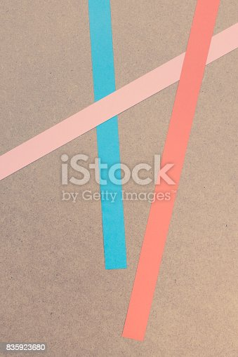 istock colored paper stripes. 835923680