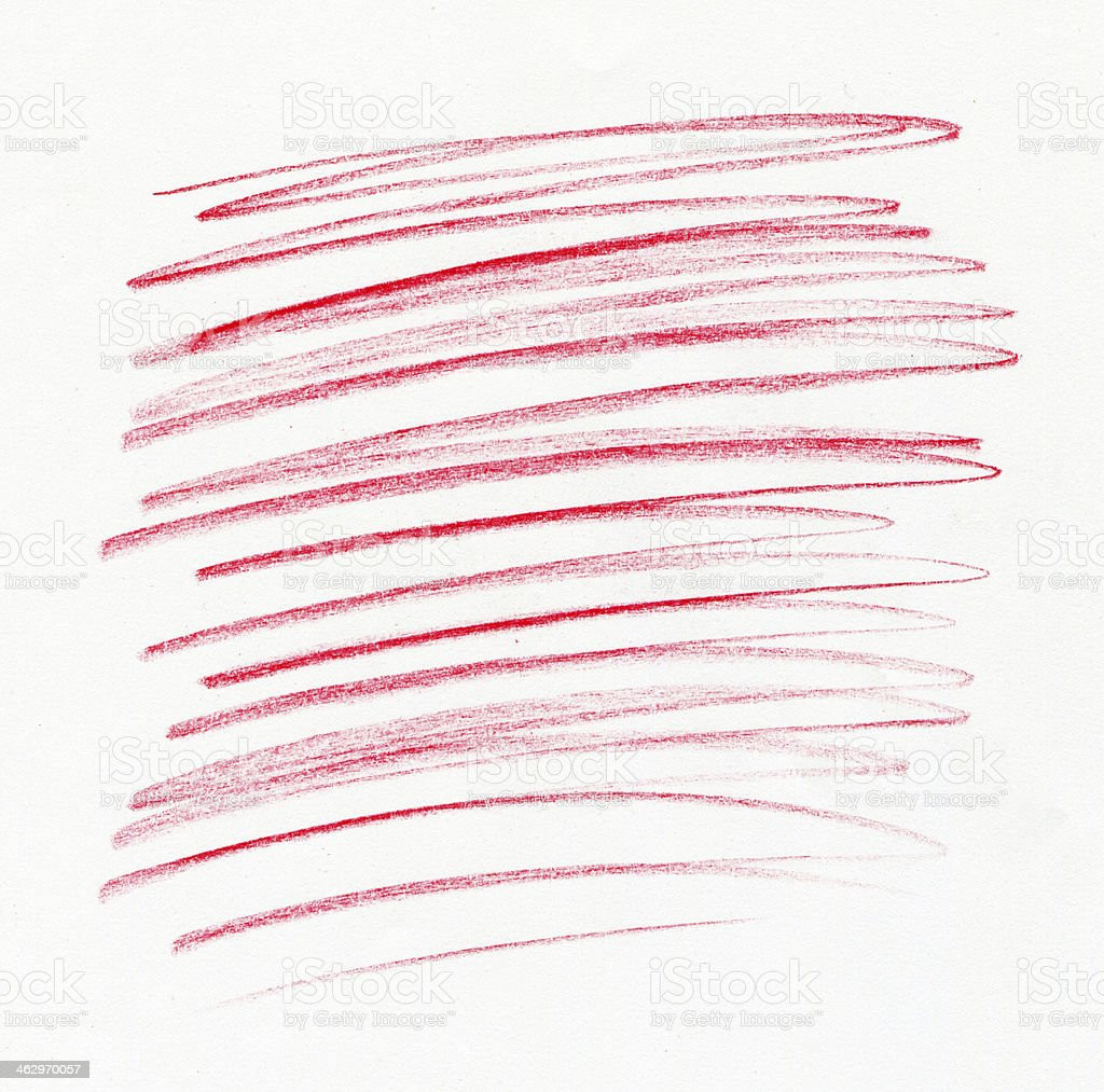 Farbiger Bleistift Zeichnung – Foto