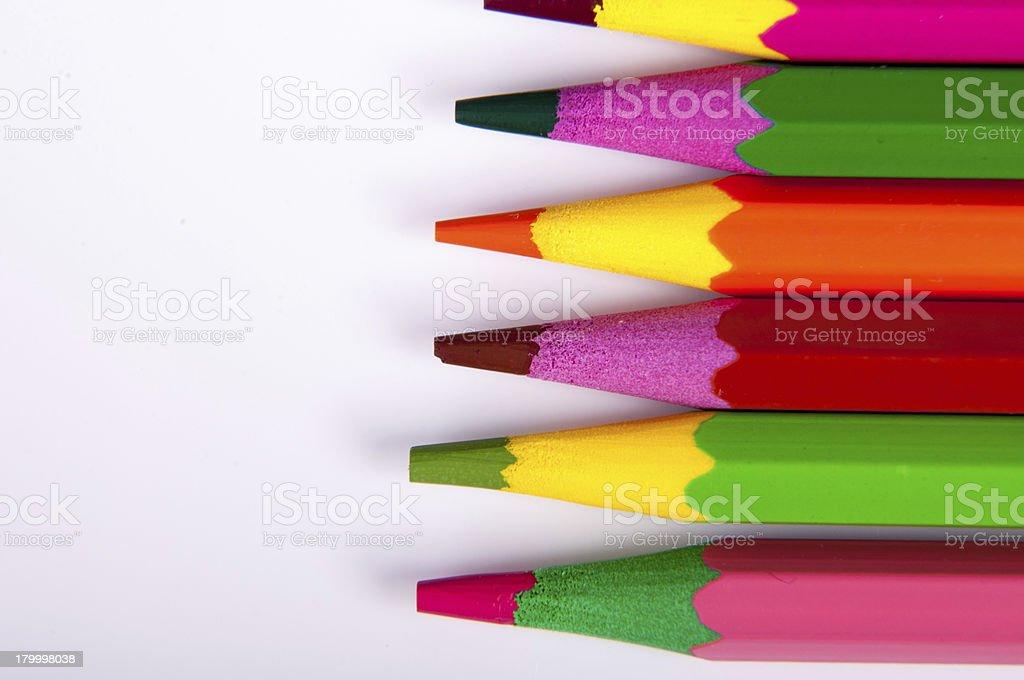 색연필 royalty-free 스톡 사진
