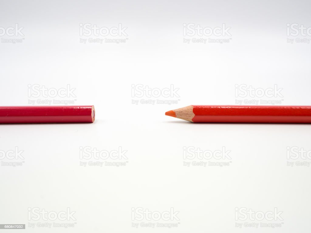 Colored pencil royalty-free stock photo