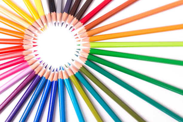 colored Bleistift – Foto