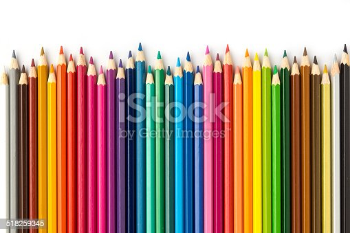 istock Colored Pencils 2 518259345