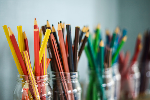 Colored Pencils And Education