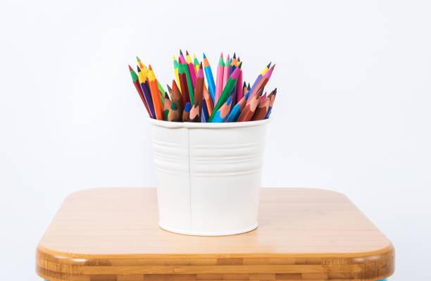 Renkli kalemler stok fotoğrafı