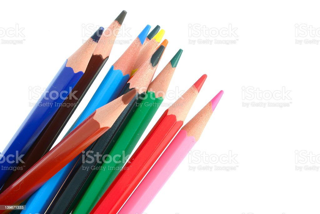Colored Pencils #3 royalty-free stock photo
