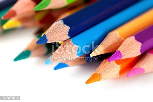 istock Colored pencils 507879709