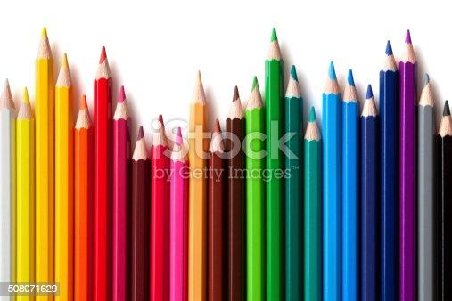 istock Colored pencils 508071629