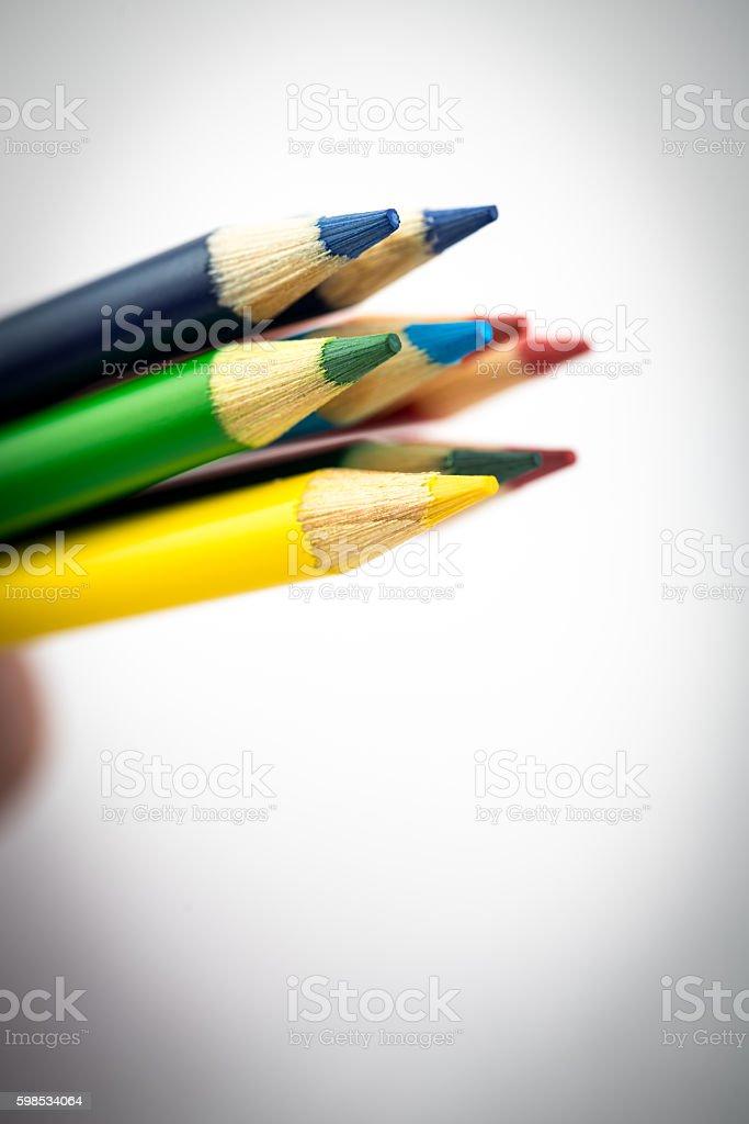 Crayons de couleurs#5 photo libre de droits