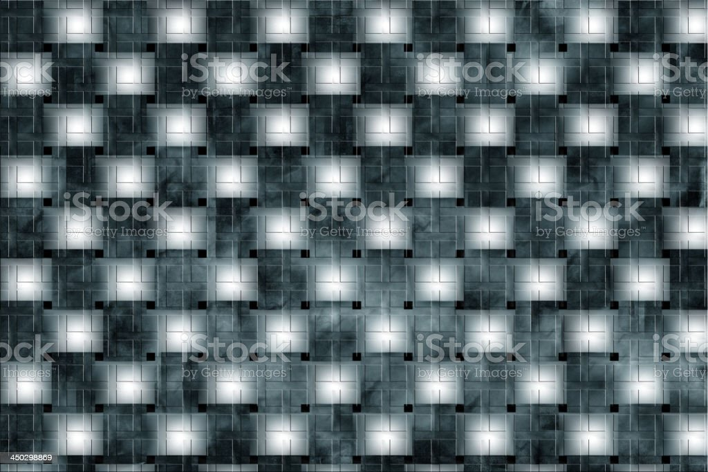 Colored plaid patterns, background pattern of cubic shapes royalty-free stock photo