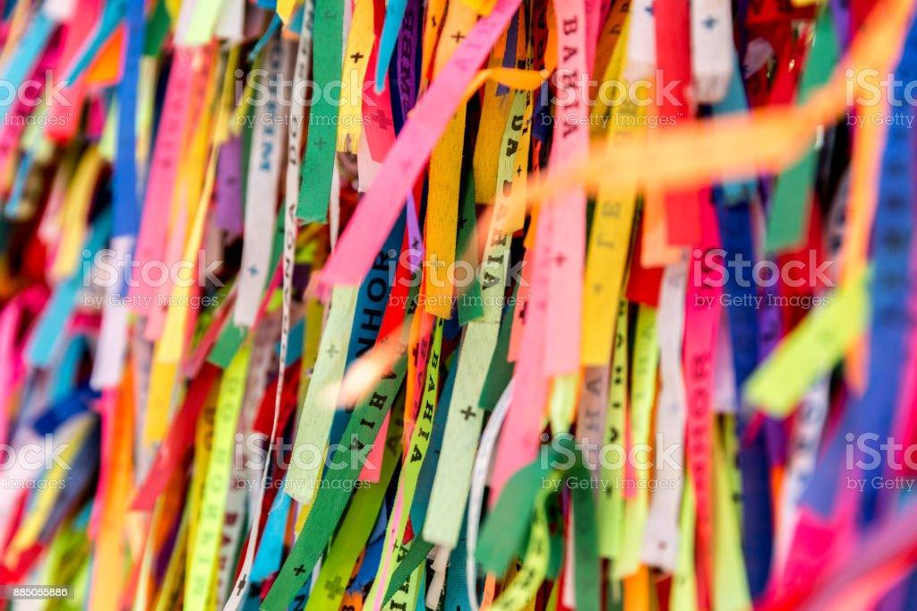 Fitas coloridas em Bahia, Brasil - foto de acervo
