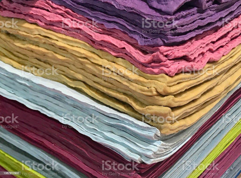 colored rubber compound stock photo