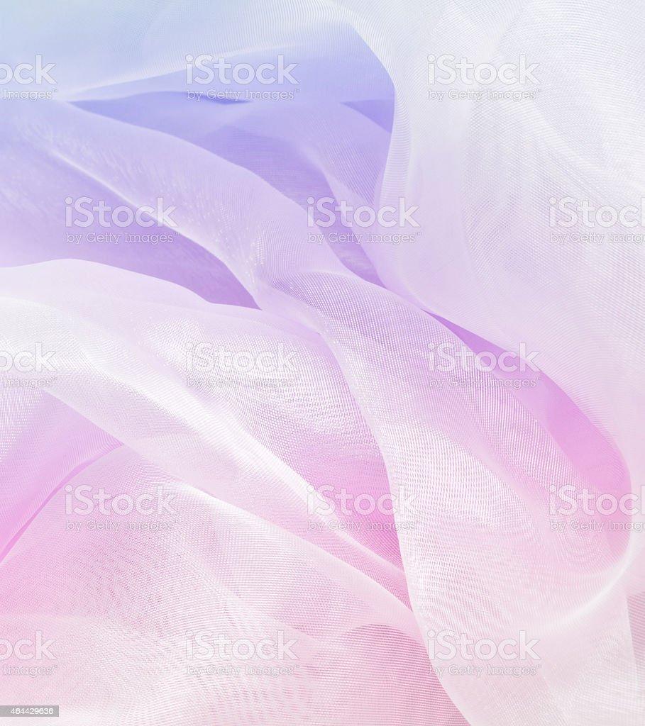 Colored satin textile stock photo