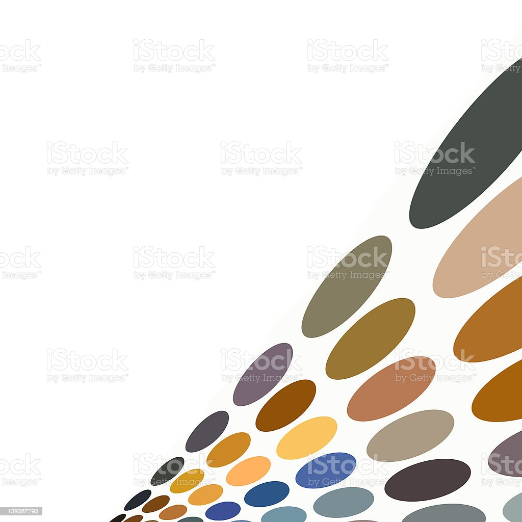 Colored spot pattern royalty-free stock photo