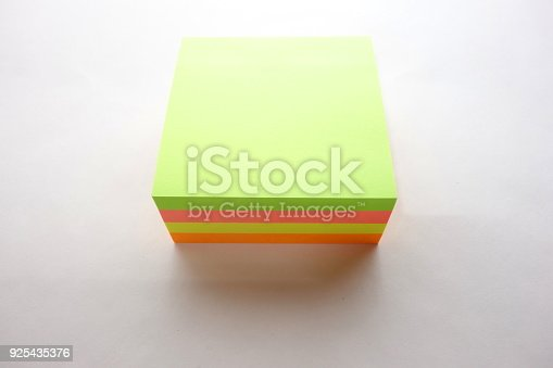 istock Colored stick notes 925435376