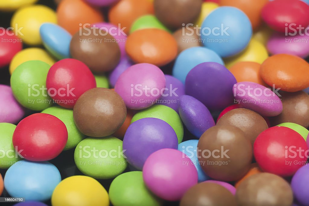 Colored sweets royalty-free stock photo