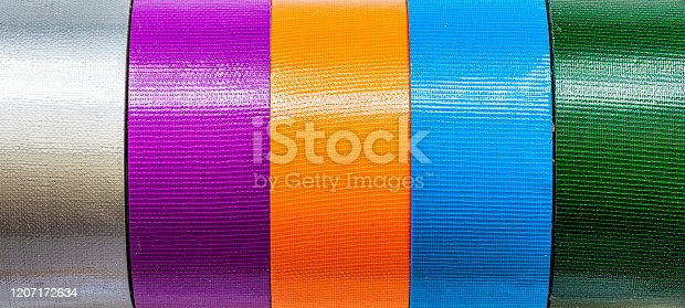 Colored tape. Insulation Tape
