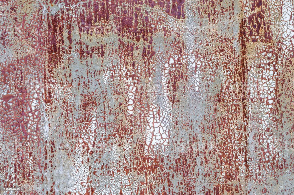 Colored texture background cracked paint with divorces stock photo