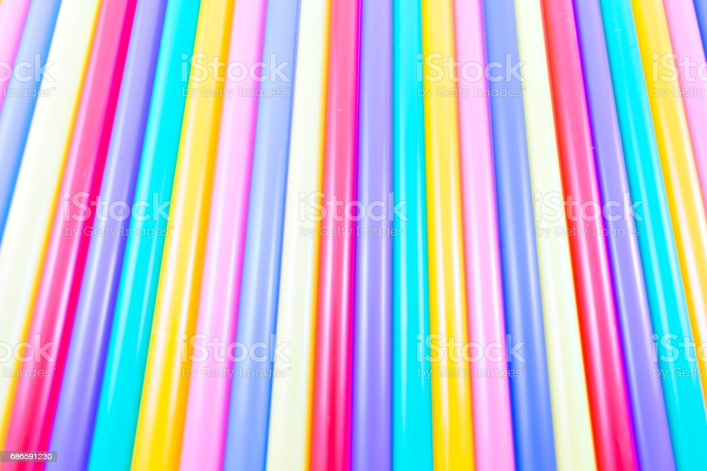Colored tubes. royalty-free stock photo