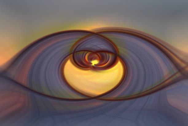 Farbige Twirl Hintergrund Desktop-Textur Herz geschwungen – Foto