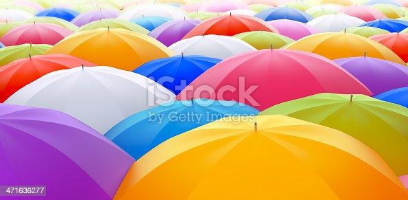 istock Colored Umbrellas 471636277