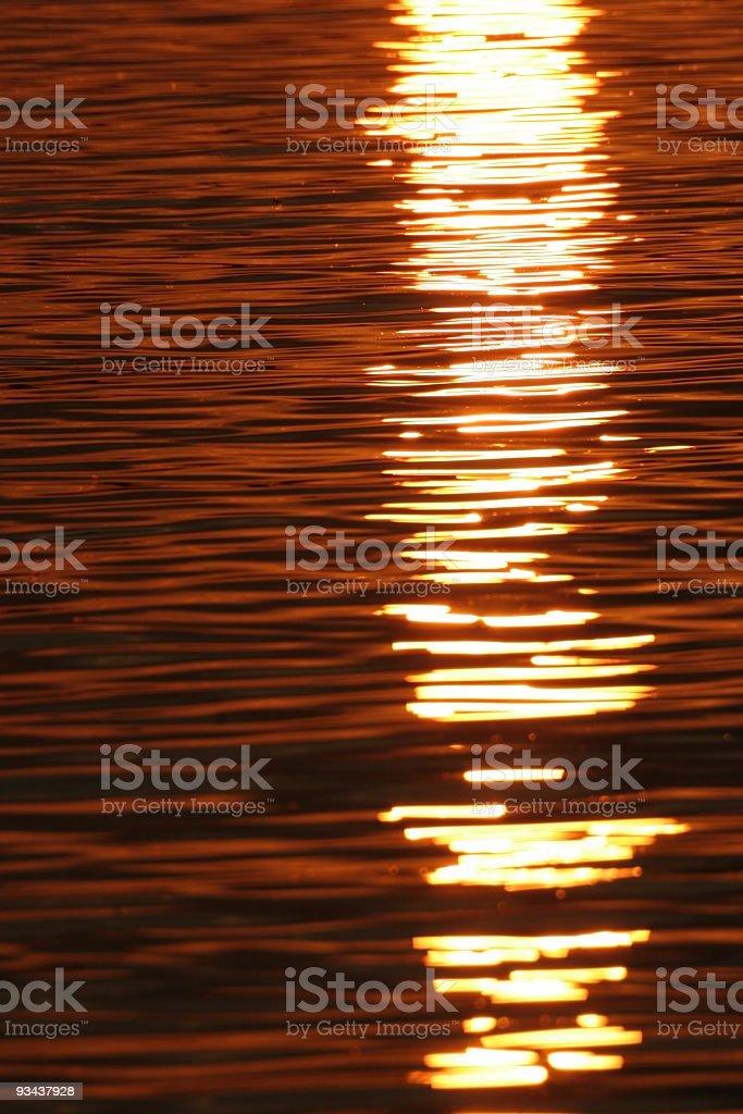 Farbige Wasser Lizenzfreies stock-foto