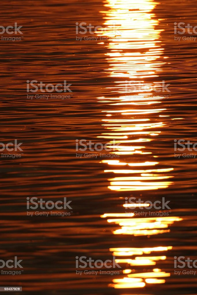 Colored water stock photo