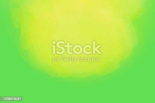 502422944 istock photo Colored watercolor abstraction, frame, banner, design, template, place for text.  Bright background.  Gentle gradient. 1209078281