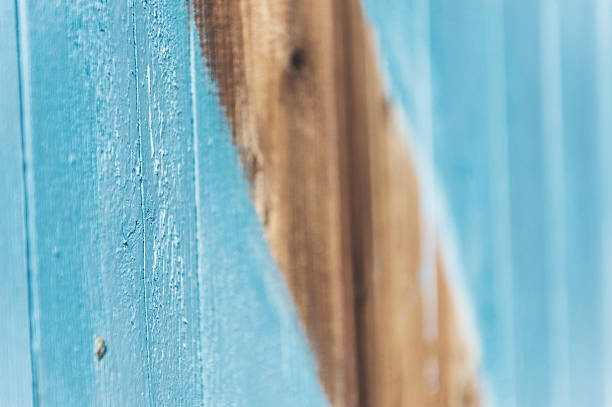 colored wood stock photo