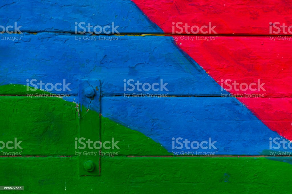 colored wood royalty-free stock photo