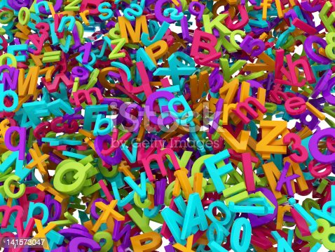 513565925istockphoto Colorful 3D Block Letters 141573047