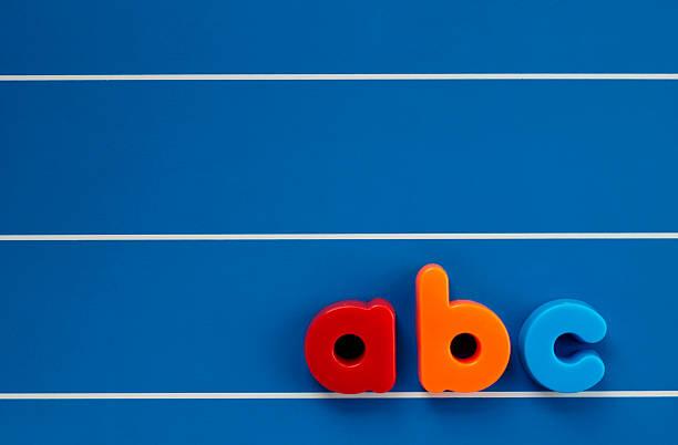 Kind-Buchstaben – Foto