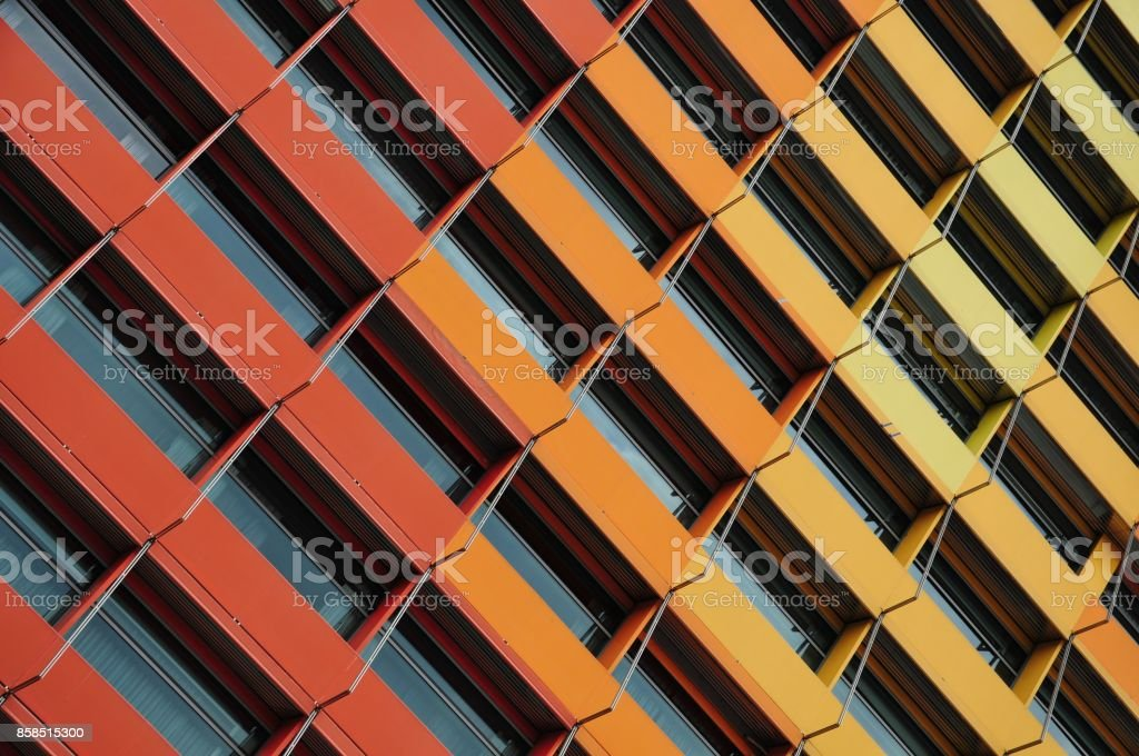 'Colorful Abstract' Amazing Architecute stock photo