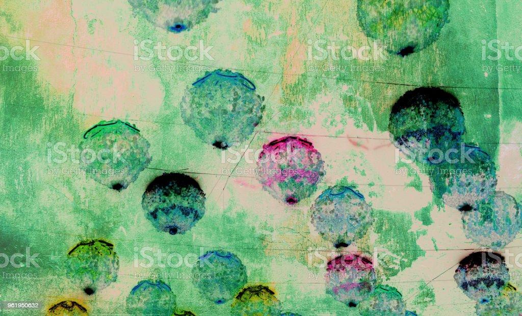 Bunte Abstrakte Hintergrund Mit Fotocollagetechnik Gemacht Digitaler Kunst Mit Rundburste Streichelt Erstellen Niedlich Rustikalen Naturlichen Look Stockfoto Und Mehr Bilder Von Abstrakt Istock