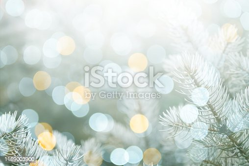 Colorful abstract background with bokeh light