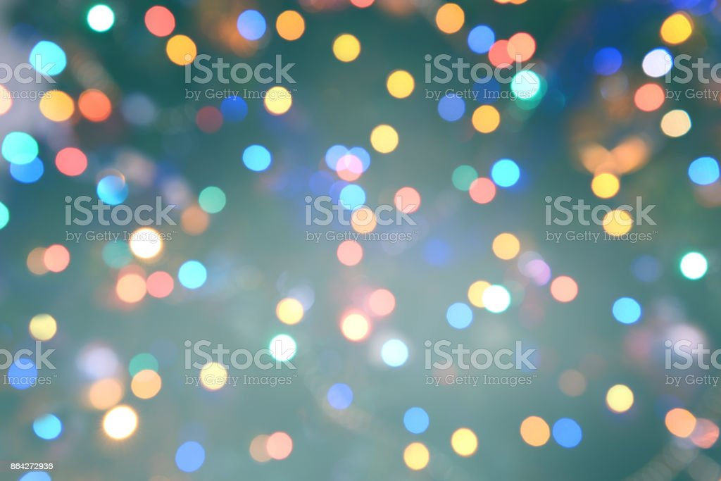 Colorful abstract background with bokeh light royalty-free stock photo