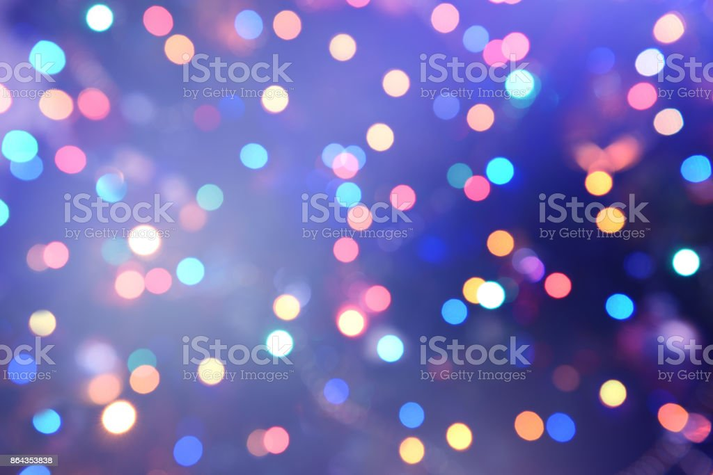 Colorful abstract background with bokeh light – zdjęcie