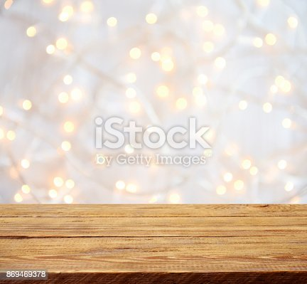 istock Colorful abstract background with bokeh light 869469378