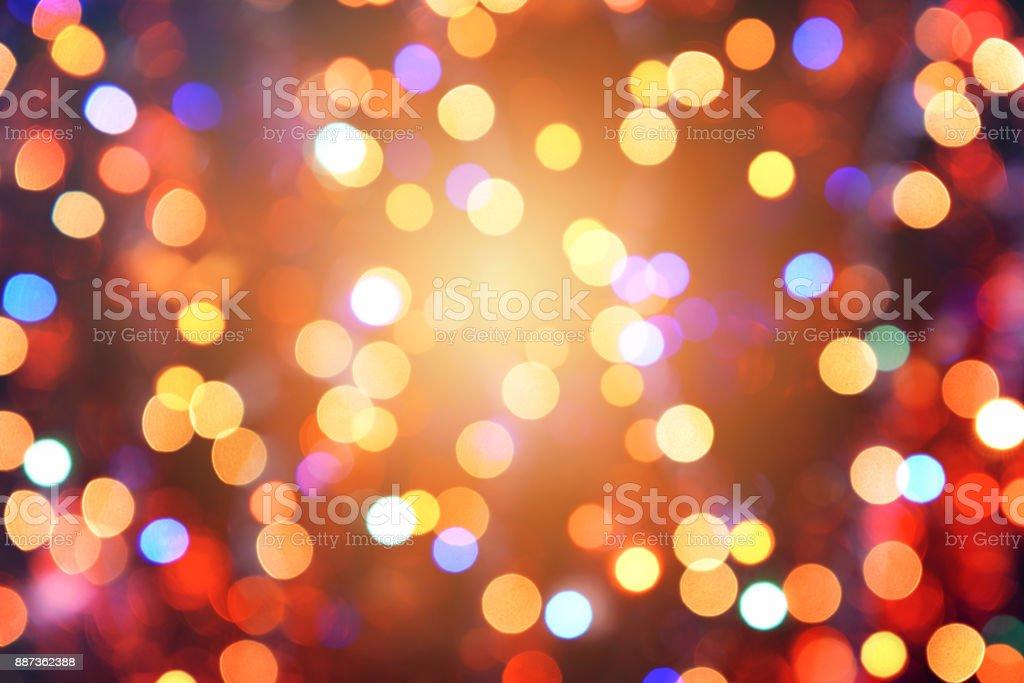Bunte abstrakte Hintergrund mit Bokeh Licht – Foto