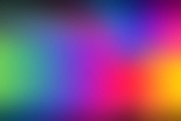 colorful abstract background with rainbow spectrum colors - 光譜 個照片及圖片檔