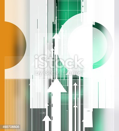 838721578 istock photo Colorful abstract design with different shapes 493708805