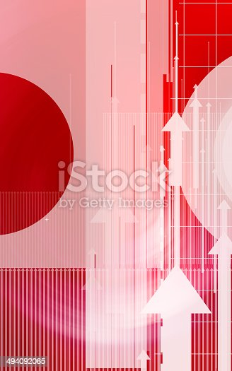 838721578 istock photo Colorful abstract design with different shapes 494092065
