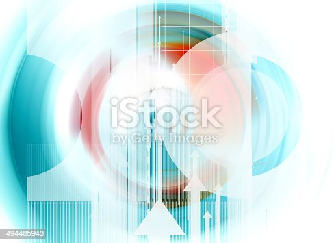 157434064 istock photo Colorful abstract design with different shapes 494485943