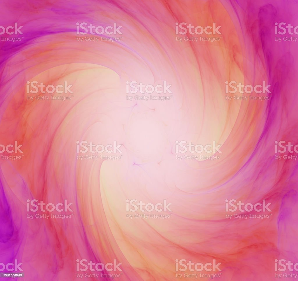 Colorful abstract fractal illustration royalty-free stock photo