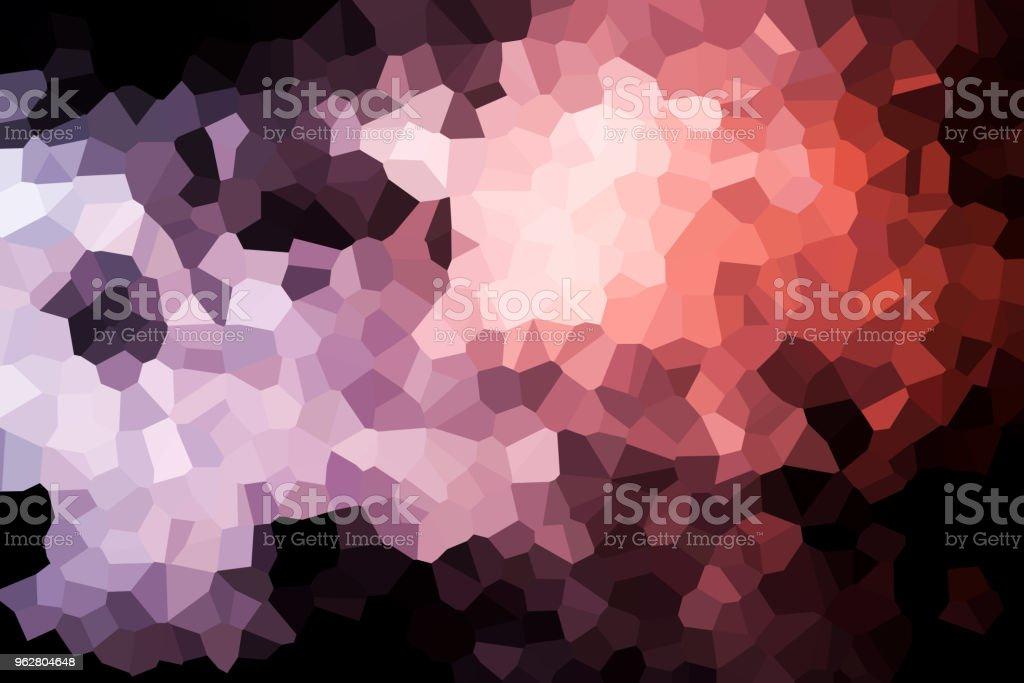 Colorful abstract geometric background - Foto stock royalty-free di Alla moda