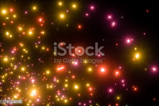1058078946 istock photo Colorful Abstract Light Confetti Background 1197100290