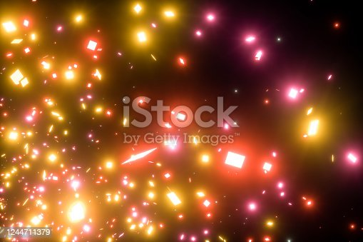 1058078946 istock photo Colorful Abstract Light Confetti Background 1244711379
