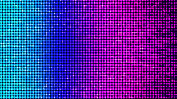 Colorful abstract party, disco and celebration background - digitally generated image Digitally generated image, showing a LED panel-like virtual light architecture in beautiful cyan, blue, magenta, violet, red, and orange colors - e.g. as party, disco and/or celebration background nightclub stock pictures, royalty-free photos & images